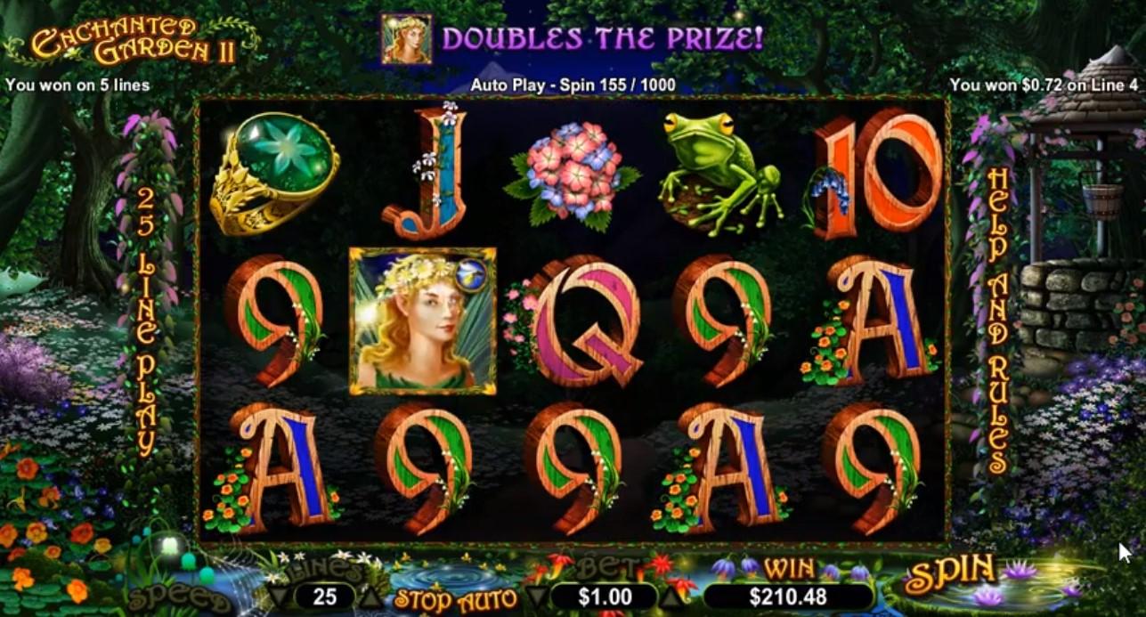 Gameplay from Enchanted Garden II.