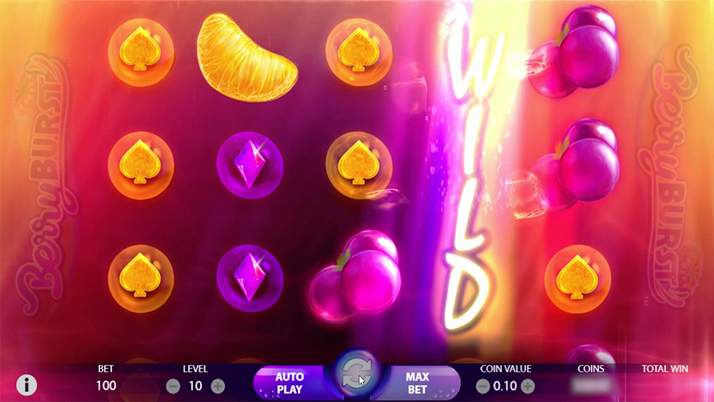 Berry Burst, a new slot from NetEnt
