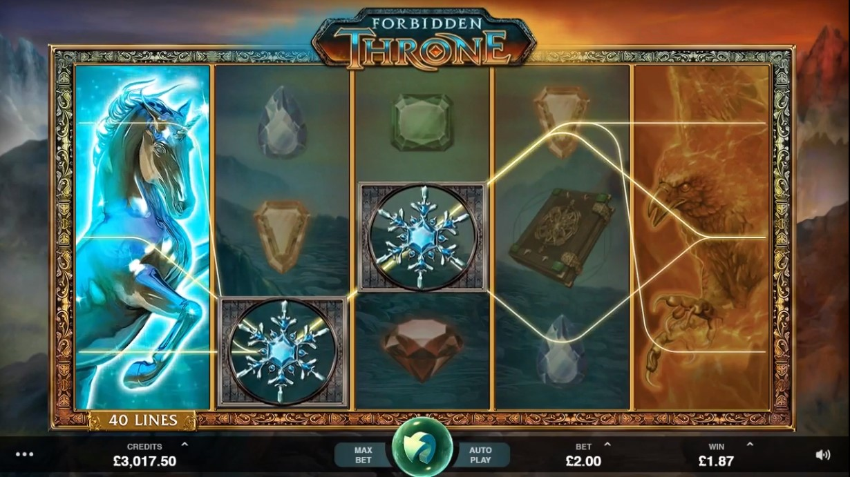 Forbidden Throne Gameplay and Interface