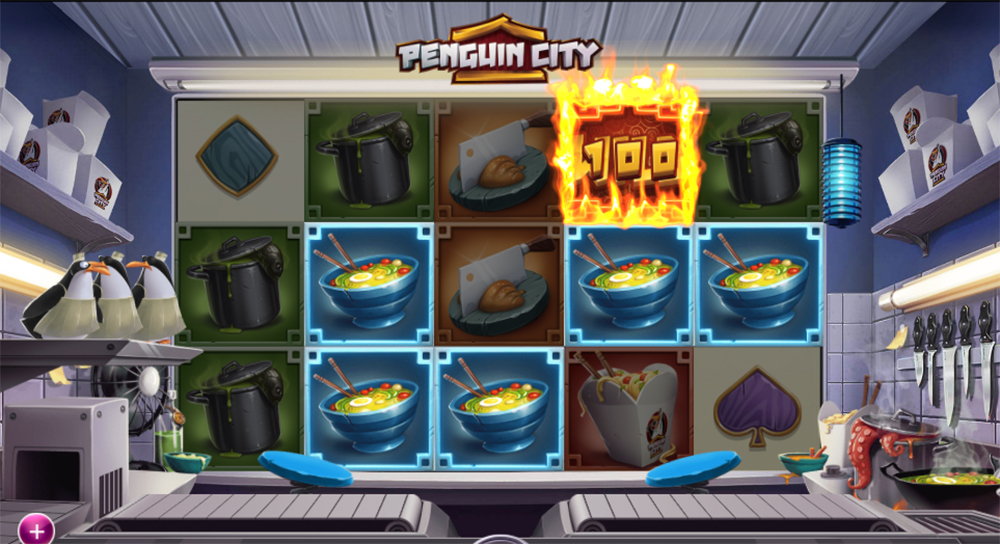 Penguin City, a new slot from Yggdrasil Gaming.