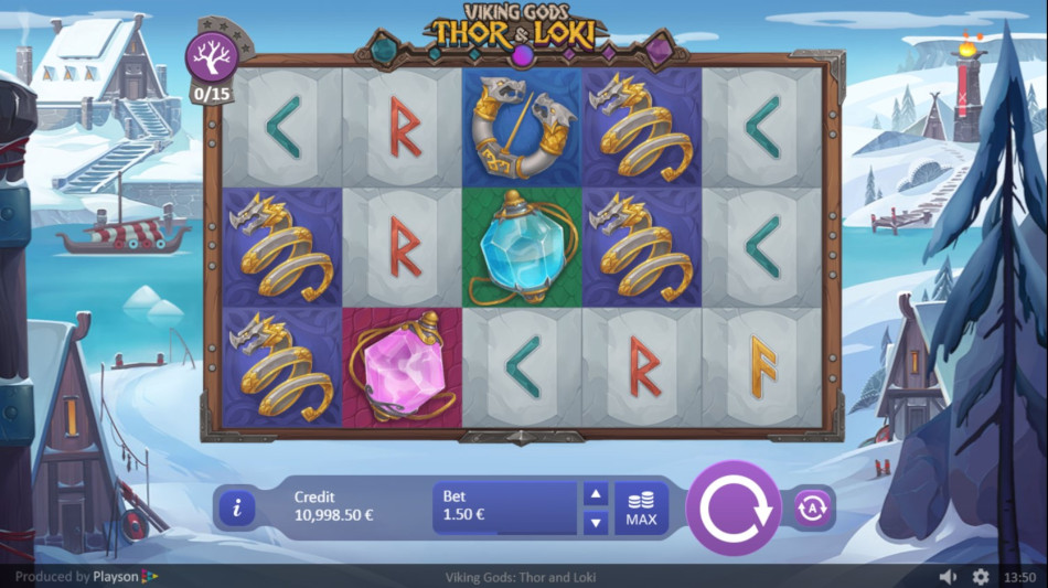 Thor & Loki gameplay.
