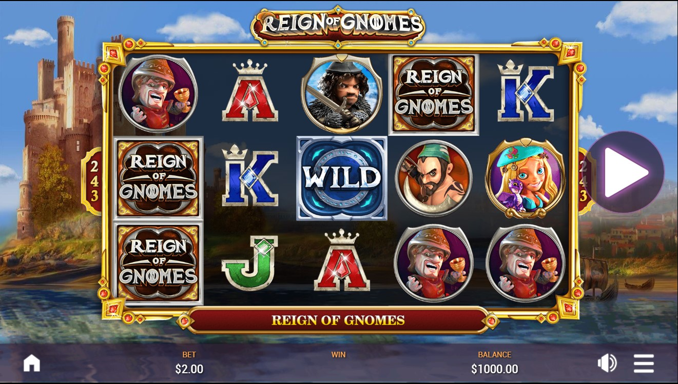 Gameplay from Reign of Gnomes.